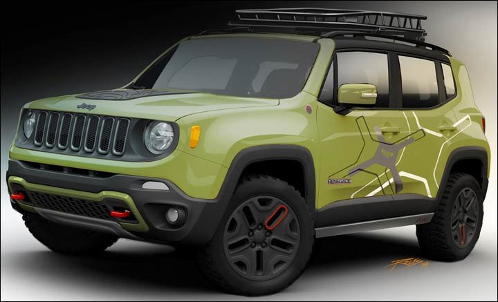 2015 2017 jeep renegade the mini jeep. Cars Review. Best American Auto & Cars Review