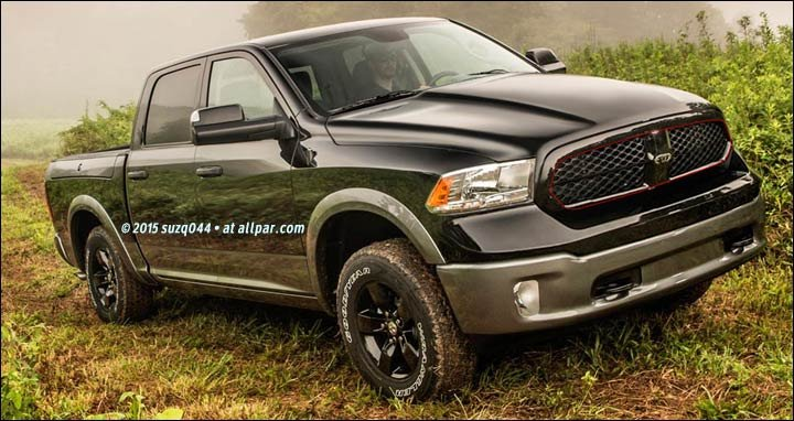 The 2018 ram 1500 pickup trucks what we see coming down the line
