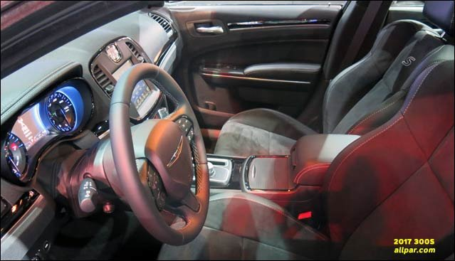 2017 Chrysler 300s