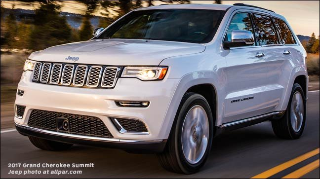 Jeep Grand Cherokee White 2017 >> 2017 Jeep Grand Cherokee The Flagship Suv Upgraded