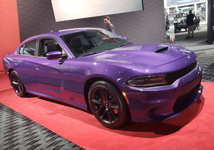 Plum Crazy Dodge Charger
