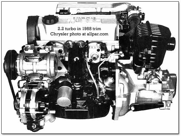 2.2 liter turbocharged engine