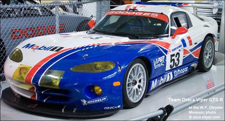 1999 Dodge Viper Gt2. Viper GTS-R
