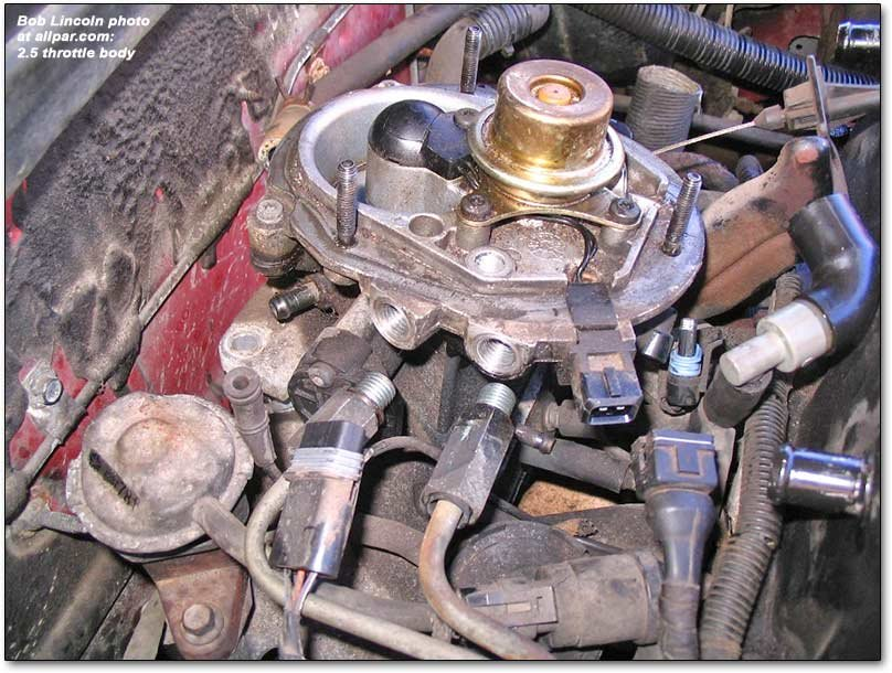 Rebuilding the Chrysler-Plymouth-Dodge 2 2 - 2 5 Engines' Throttle Body