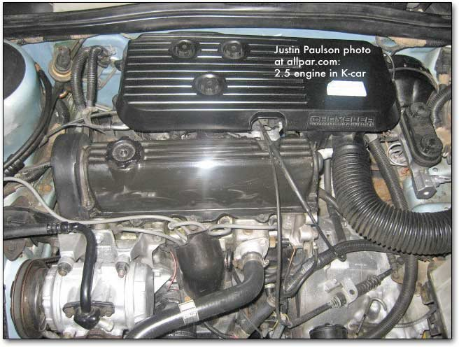 2.5 liter Mopar engine