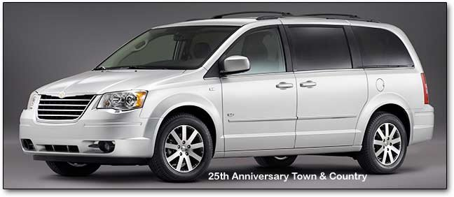 Chrysler Town & Country - Dodge Caravan minivans
