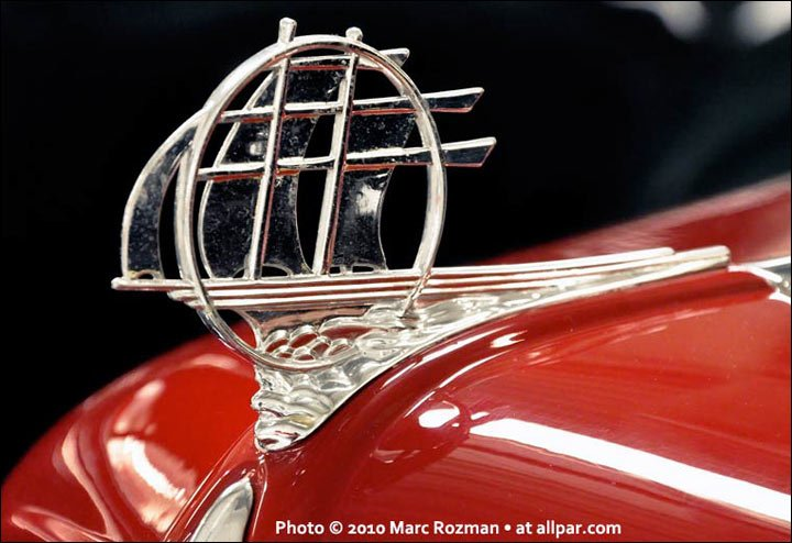 Plymouth hood ornament