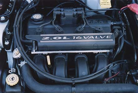 The Chrysler 2.0 liter engine was first used in the Neon ; it was also