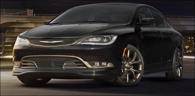 2017 Chrysler 200 Midsized Cars