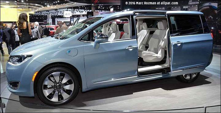 2017 Chrysler Pacifica Minivans Specifications Rumors