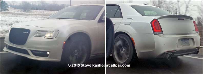 2015 Chrysler 300 SRT8 spy shot