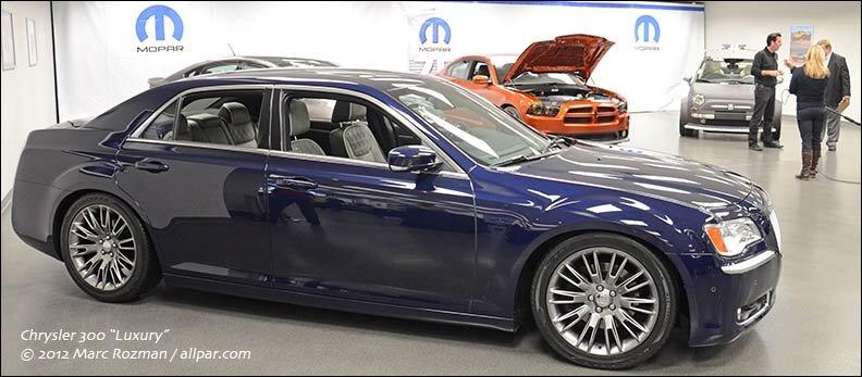 Chrysler 300 Luxury — 2012 concept car