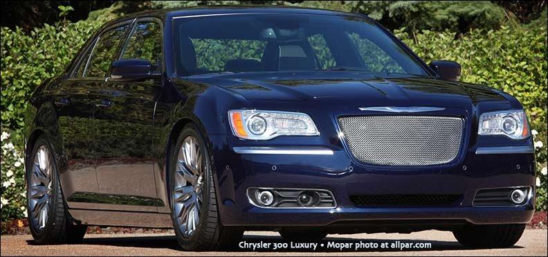 Luxury Vehicle 300: Chrysler 300 Luxury