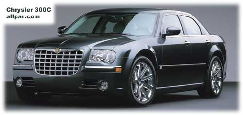 Chrysler 300c Front View Car