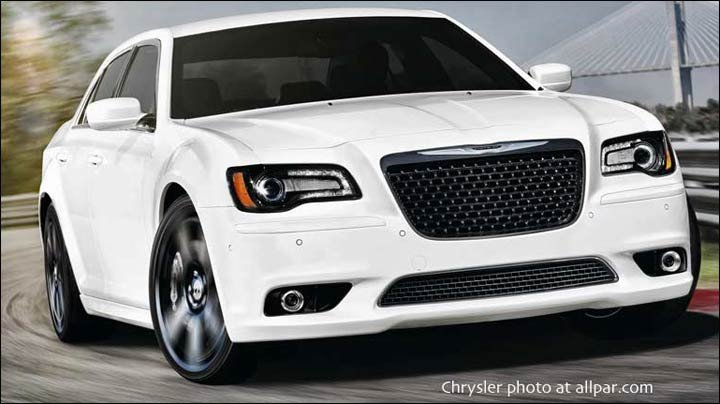 2012-2014 Chrysler 300C SRT8 cars
