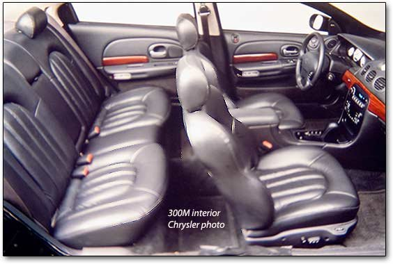 1999 chrysler 300m interior