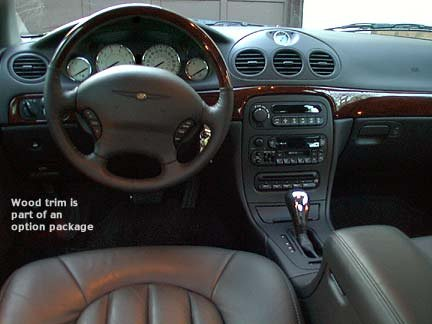 2002 chrysler 300m interior