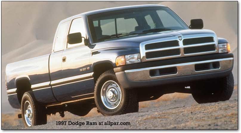 "1994-2001 dodge ram pickup trucks: the first of the ""big rig rams"" | allpar  forums  allpar"
