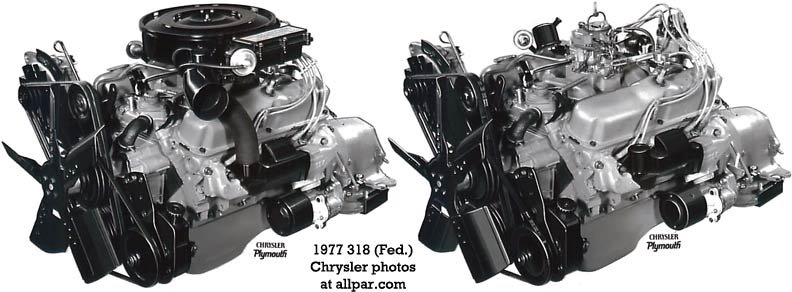 318 la chrysler small block v8 engines  at aneh.co