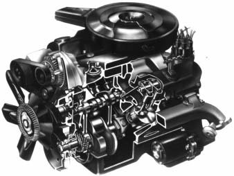318 LA series V8 engine from Chrysler - magnum