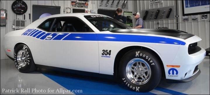 2016 Dodge Challenger Drag Pak Mopar S 426 Hemi And
