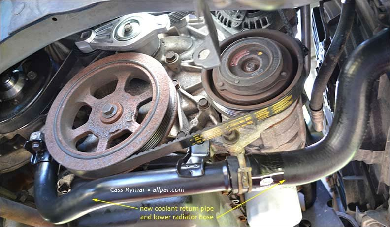 Water Pump Replacement On 2002 200107 Chrysler Town Country Rhallpar: 2002 Chrysler Town And Country Water Pump Location At Gmaili.net