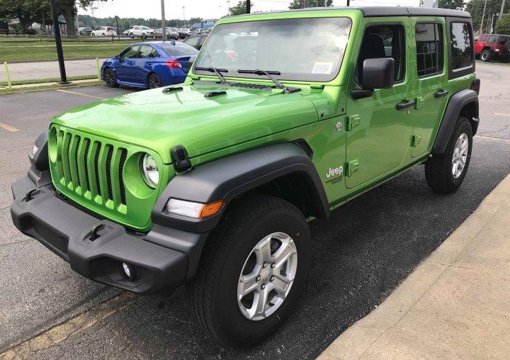 2018 Jeep Wrangler Unlimited Turbo Hybrid