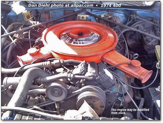 the mopar chrysler dodge plymouth b series v8 engines 350 400 v8