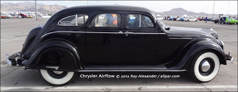 Desoto And Chrysler Airflow Car