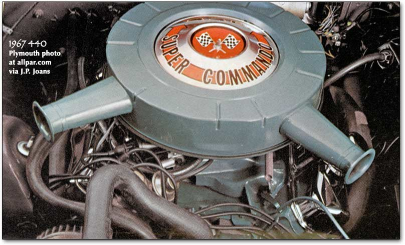 1967 plymouth 440 super commando