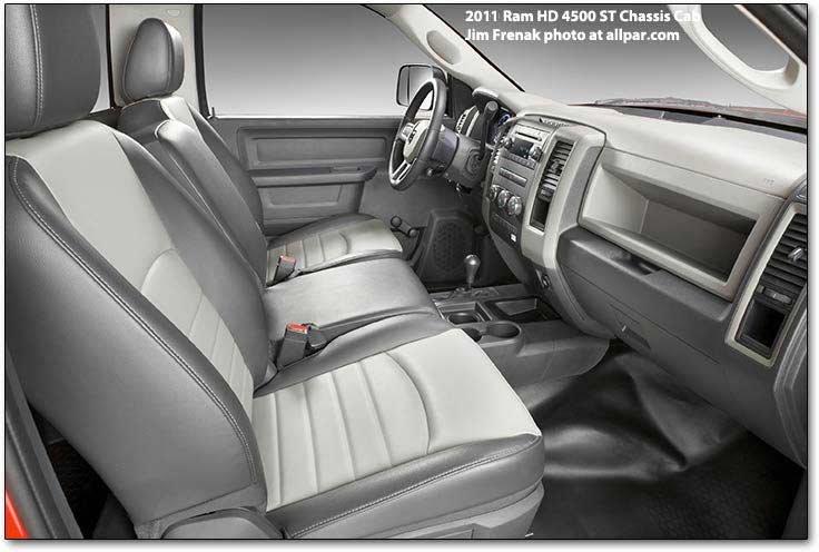 2011 2012 Dodge Ram Chassis Cabs Ram 3500 Ram 4500 Ram 5500