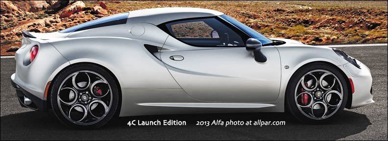 すべてのモデル アルファ ロメオ 4c ローンチエディション : allpar.com