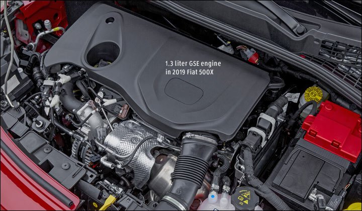 GSE 1.3 engine in 2019 Fiat