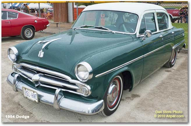 1955 Dodge Truck For Sale >> Dodge cars of 1954: Meadowbrook, Coronet, Royal