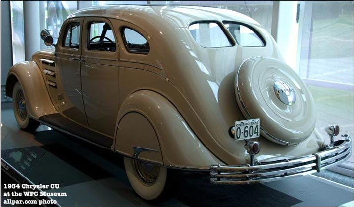 1934 Chrysler Airflow car