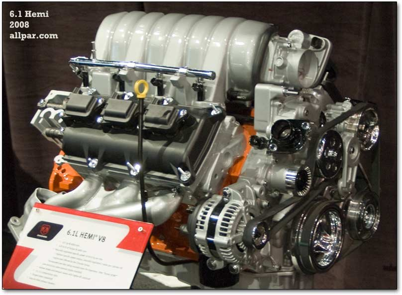 SRT V8 Engines: 6 1 and 6 4 (392) V8s