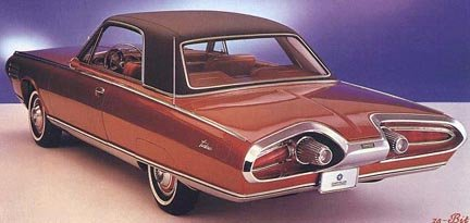 Chrysler turbine car, rear view