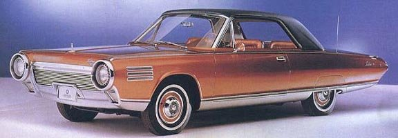 1963 Chrysler turbine car (front-side)