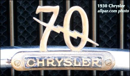 chrysler 70