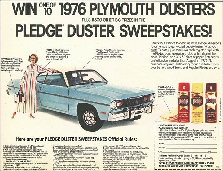 1976 duster