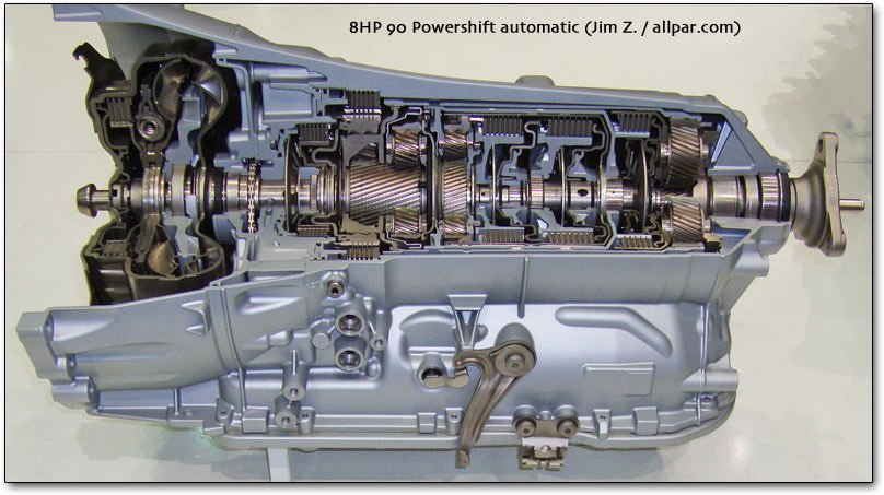 8HP 90 powershift