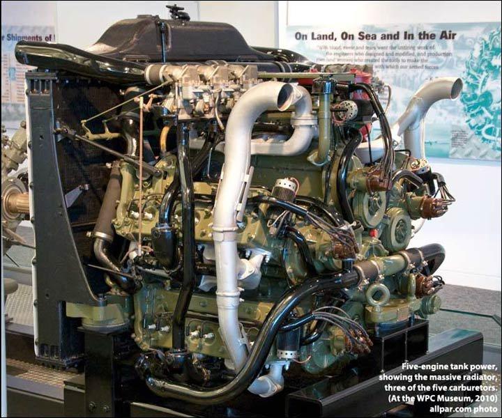 Chrysler tank engine