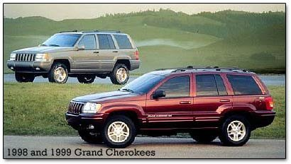 1999 Jeep Grand Cherokees