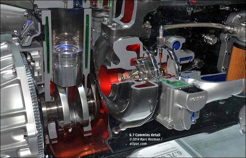 cummins engine detail