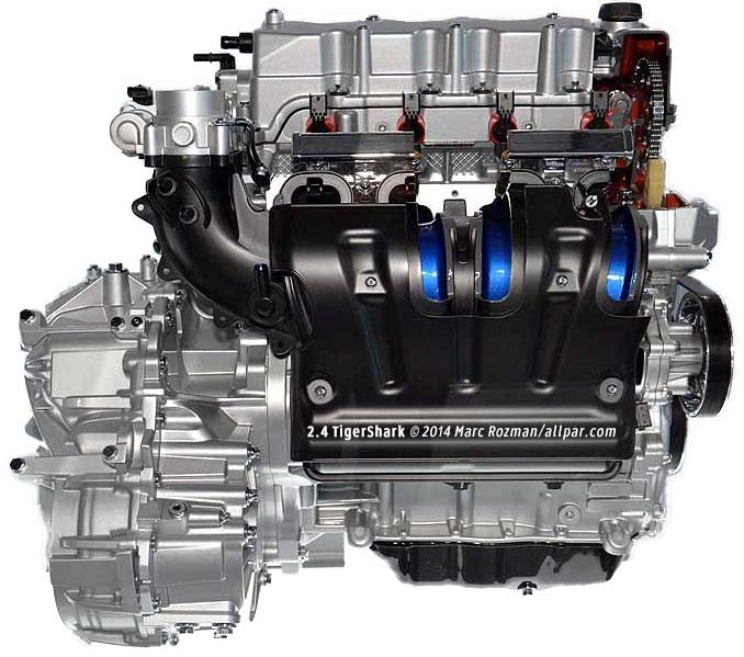 Chrysler Tiger Shark And World Gas Engines: 1.8, 2.0, 2.4