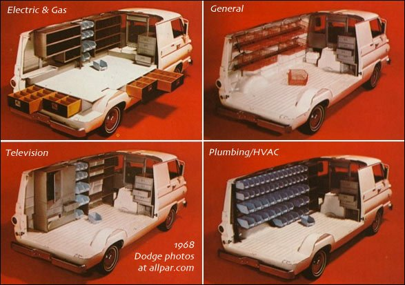 Dodge A Series Vans 100