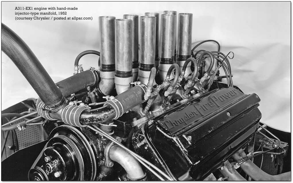 A311 Hemi engine from Chrylser
