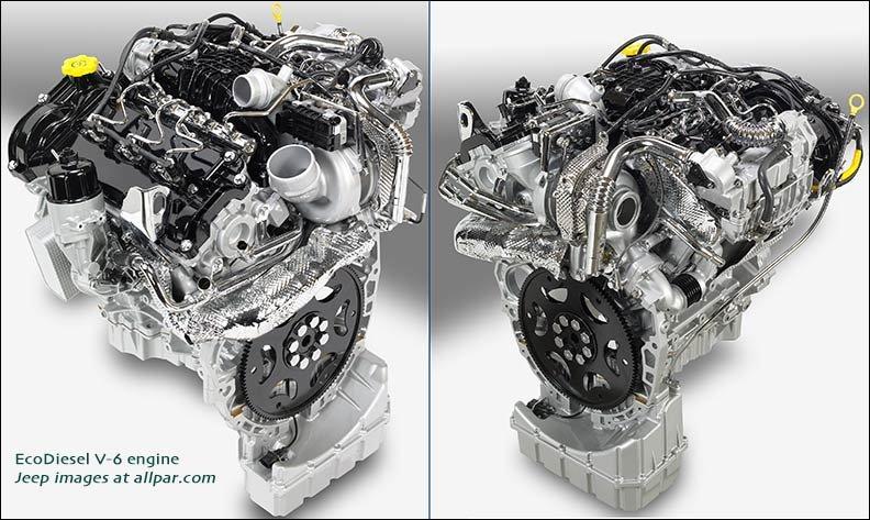 VM Motori V6 diesel from Grand Cherokee