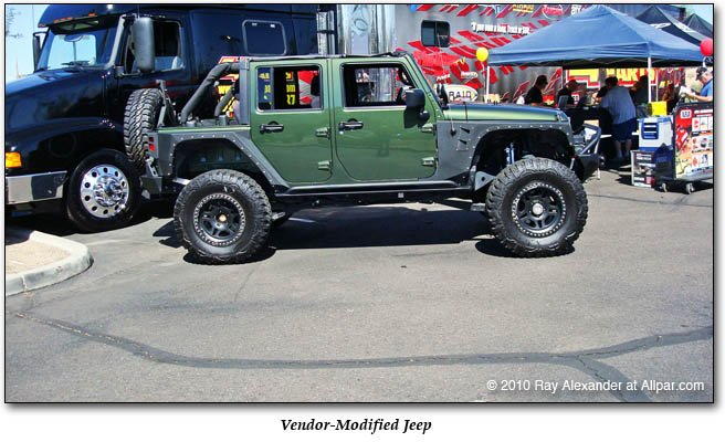 vendor modified Jeep