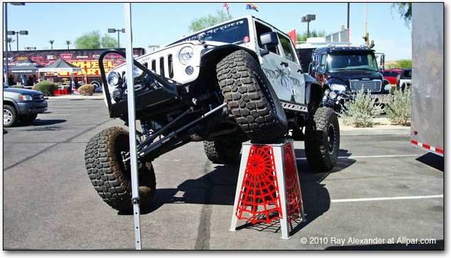 airpark jeep jam display